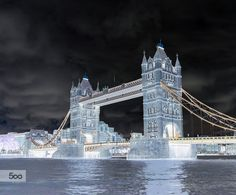 abstract bridge detail different england invert inverted landmark london monument night river sky style thames tourism tourist tower united kingdom unusual Interesting architecture art beautiful city europe street travel uk water