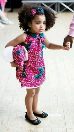 #AfroFunky cuteness! @Kennedy Castro Lombard  your future daughter!