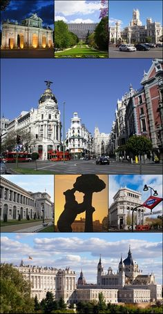"Madrid is the capital, and there live our ""dear"" politicians, the royal family (yes, we still have a monarchy but does nothing), most famous actors ... It's a nice city. No, it isn't by the sea."