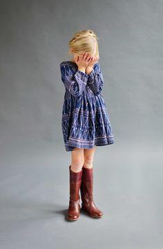 Charlotte Dress - Lali Kids Clothing #fairtrade #madeinindia #kidsfashion #girls