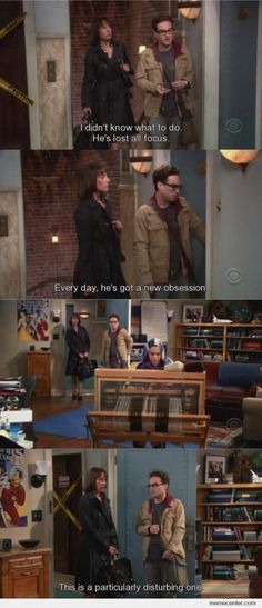 Big Bang Theory...you know there's gonna be some funny lines when Sheldon's Mom is in the scene...