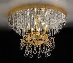 Laevalgusti Impero 780/PL8, Luksuslik laevalgusti kristallripatsitega. Valida on Swarovski või Cut kristallist või klaasist ripatsite vahel.  Elutoa valgustid, Hotellivalgustid, Klassikalised laevalgustid, Klassikalised valgustid, Kodu lühtrid, Koduvalgustid. Bränd:   Masiero