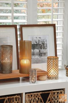 DIY Gift Ideas: Aluminum Sheet Candle Holders