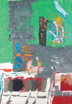 Lea Nikel. Untitled. O/C 197x133cm. 1974.