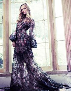 Аманда Сайфрид для Vanity Fair