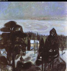 Edvard Munch The night