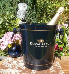 French seau à Champagne Duval Leroy  par FrenchVintageByManue