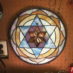 Please+note:+you+are+ordering+a+CUSTOM+mandala,+it+will+be+made+to+order,+not+the+one+pictured+here.+This+piece+is+nearly+16+inches+tall,+it's+huge!No+two+pieces+of+glass+are+identical,+and+even+vary+significantly+on+the+same+piece+of+glass!Please+let+me+know+your+preferences+when+you+order-+I+will+make+the+piece+especially+for+you!Current+lead+time+is+about+3-4+weeks.+Please+let+me+know+if+you+need+the+piece+sooner.