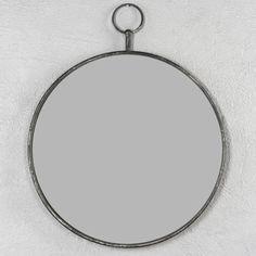 Bildresultat för rund spegel grå