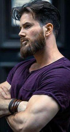 Men's Full Beard Style for 2020 Grow A Thicker Beard, Thick Beard, Short Beard, Long Beard Styles, Beard Styles For Men, Hair And Beard Styles, New Beard Look, Beard Maintenance, Lazy Girl Designs