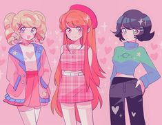 Powerpuff Girls Costume, Powerpuff Girls Cartoon, Powerpuff Girls Wallpaper, Cartoon As Anime, 5 Anime, Chica Anime Manga, Girl Cartoon, Cartoon Art, Power Puff Girls Z