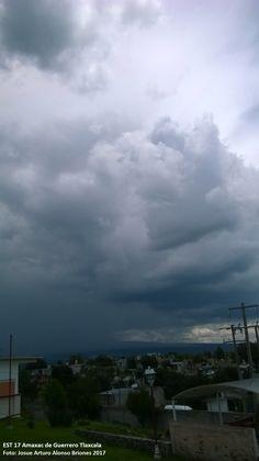 Nubes en Tlaxcala desde Amaxac de Guerrero Tlaxcala
