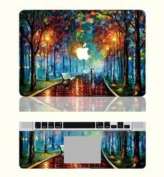 iCasso Love in the Rain Protective Full-cover Vinyl Art Skin Decal Sticker Cover for Apple Macbook Pro 13 iCasso A laptop skin of leonid afremovs work Apple Macbook 2017, Apple Laptop Macbook, Macbook Skin, Macbook Pro 13 Inch, Macbook Case, Mac Laptop, Laptop Case, Laptop Skin, Macbook Stickers