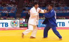 Judo Martial arts gifs - blue judo obi hasan vanlıoğlu Turkey Judoka