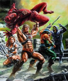 Masters of the Universe (by SiMoSol)