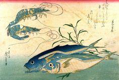 CLARIANA: ANDO HIROSHIGE. Dibujante, grabador y pintor japonés. 1797 en Edo (actual Tokio)-1858 (en la misma ciudad.)
