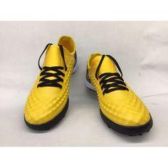 online store 3b10c 16859 Botas De Futbol Nike MagistaX Finale II TF Amarillos Negras 2017. Football  Boots ...