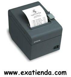 Ya disponible Impresora Epson ticket tm t20 USB/negra   (por sólo 174.95 € IVA incluído):   -Tipo impresora: Termica -Fuentes de impresión: 9 × 17 / 12 × 24 -Tamaño de caracteres: 0, 88 (An) × 2, 13 (Al) / 1, 25 (An) × 3 (Al) mm -Caracteres por pulgada: 22, 6 cpp / 16, 9 cpp -Barcodes: -Código de barras: UPC-A, UPC-E, JAN13(EAN13), JAN8(EAN), CODE39, ITF, CODABAR (NW-7), CODE93, CODE128, GS1-128, GS1 DataBar, códigos bidimensionales de barra de datos:, PDF417, QRC