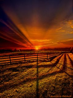 Songs of the Setting by Phil Koch. Photo taken May 13, 2013.  #sunset