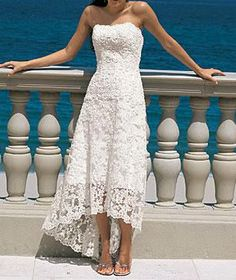 Beach Wedding Renewal Dresses | Pictures of vow renewal dress/casual wedding dress - Page 4 - Cruise ...