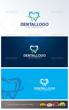 Dental  - Logo Design Template Vector #logotype Download it here: http://graphicriver.net/item/dental-logo/3157388?s_rank=94?ref=nexion