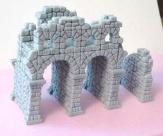 An awesome mold set for building ruined stone structures. rpg, doll house, castle