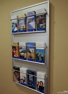 EurOptimum Brochure Displays - installing Displays, Graphics, Vinyl, Wayfinding, Branding for our clients