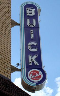 Buick Dealership sign