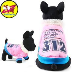 Winter Pet Dog Waterproof Sport Jacket Thickening Warm Puppy Clothes For Small Dogs  2 Colors  #Affiliate