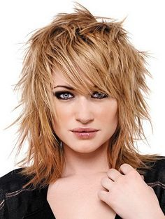 Edgy Medium Haircuts on Pinterest | Hair Layers Medium, Edgy Long ...