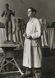 August Sander. Sculptor [Kurt Schwippert]. 1942