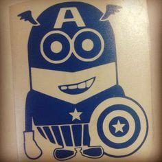 #minions                                               Captain Minion