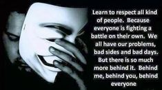 Others - Learn to respect all kind of people  #Fighting, #Respect