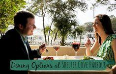 Hilton Head restaurants at Shelter Cove Harbour