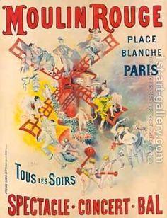 Moulin rouge art