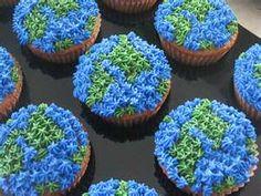 earthday cupcakes