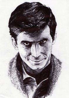 #norman bates ballpoint pen This would make an amazing tattoo...