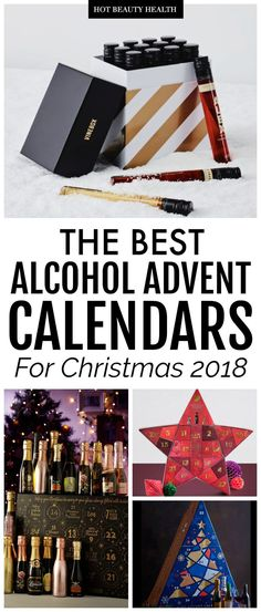 The Best Alcohol Advent Calendars for Christmas Looking for Christmas gift ideas for him or her who loves a good cocktail? Check out this huge list of the best alcohol advent calendars for the 2018 holiday season! From vodka and gin Alcohol Advent Calendar, Advent Calendar Gifts, Advent Calendars, Best Alcohol, Alcohol Gifts, Holiday Gift Guide, Holiday Gifts, Christmas Gifts, Christmas
