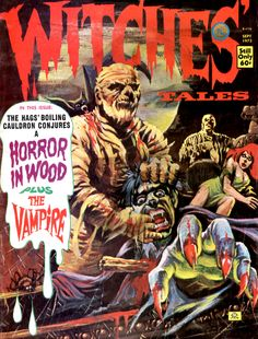 Witches' Tales Vol. 5 #5 (Eerie Publications 1973)
