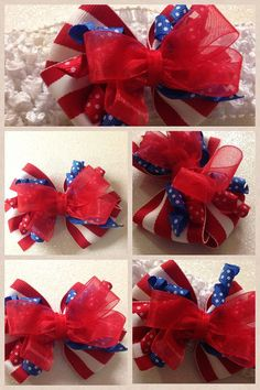 Hairbow with alligator clipYou choose by HelloKourtneyBows on Etsy, $6.00