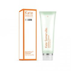 Kate Somerville Exfolikate Cleanser Daily Foaming Wash, 4 Ounce, 1 Count: A daily foaming cleanser that gently cleanses away oil, makeup and surface impurities to reveal softer, smoother skin. Cleanser For Combination Skin, Combination Skin Care, Facial Cleanser, Moisturizer, Natural Exfoliant, Makeup Artists, Beauty Products, Facial Products, Beauty Tips