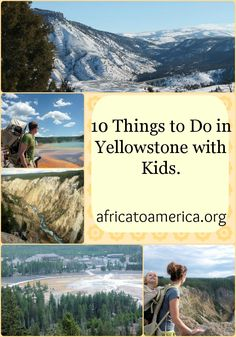 Family-friendly activities to do while visiting Yellowstone with Kids. Traveling with Kids, Traveling tips, Traveling Vacation Places, Vacation Destinations, Vacation Trips, Vacation Spots, Places To Travel, Places To Visit, Vacation Ideas, Vacations, Visit Yellowstone