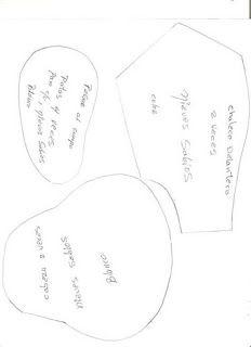 Moldes para hacer pinguinos de navidad y muñecos de nieve ~ Solountip.com Recycled Crafts, Diy Crafts, Creation Couture, Patches, Creations, Place Card Holders, Grande, Patterns, Reno