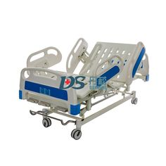 Pneumatic Damping Guardrails 3 Cranks Manual Hospital Bed with Wheels, 3 Function Hospital Bed, Medical Bed,Model NO.:BC05, Condition:New, Use:Hospital, Nursing Home, Rehab Center, Package Dimensions:2140*1120*450mm, Weight:115kg, Bearing Weight:160kg, Trademark:Dansong, Transport Package:Carton, Specification:2200*900*450-720mm, Origin:China, HS Code:9402900000 Hospital Bed, Direct Sales, Direct Selling, Beds For Sale, Medical Equipment, Metal Beds, Medical Care, Clinic, Abs
