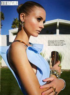 Bijoux strass - 15/07 - @Elle France