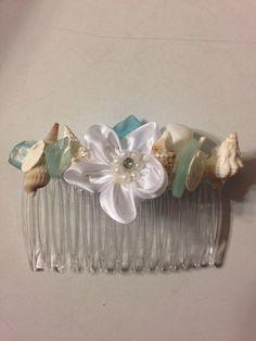 Wedding Seashell  Bride Bridesmaid Sea Shell by caroledoc on Etsy, $15.00