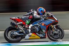 Меландри протестировал новый мотоцикл MV Agusta