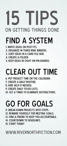 Tips on getting stuff done. #studyskills #homeschool #life college student tips #college #student