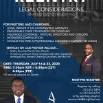 """Reentry   Legal Considerations   """"What Did I do to Prevent This? For Pastors and Church Leaders: Legal Missionary Baptist Church, Faith Church, Church News, Churches Of Christ, Episcopal Church, Christian Church, The Covenant, Consideration, Ministry"""