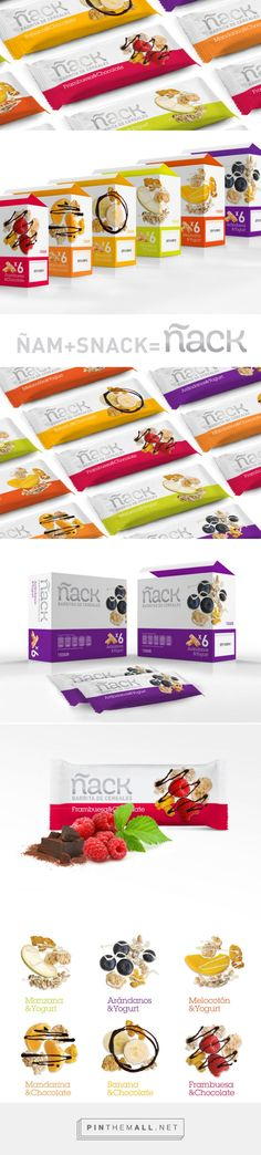 Ñack Cereal Bar — The Dieline - Branding & Packaging - created via http://pinthemall.net